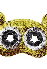 Rice Sequin Mask Bear