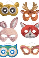 Rice Sequin Mask Bunny