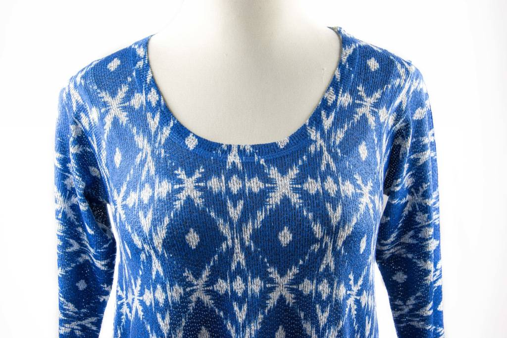 Nally and Millie Printed Blue Grey Multicolor