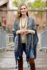Rockflowerpaper Ophelia Olive Kimono Scarf