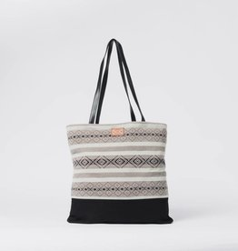 Krochet Kids Tote Bag with Knit Panel Pistachio