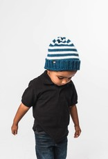 Krochet Kids Davis Jr Children's Cuffed Beanie Indigo