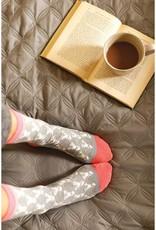 Rockflowerpaper Stag Grey Pair of Socks