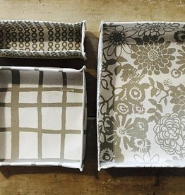 Erin Flett Canvas Box Set Kaki