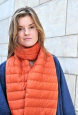 Paisley Road Duck Down Scarf Orange