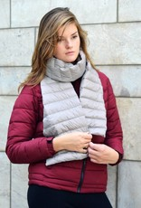 Paisley Road Duck Down Scarf Light Gray