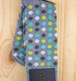 Alchester & Sons Arlo Cotton Dot Socks Grey