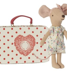 Maileg Mouse Big Sister in Suitcase