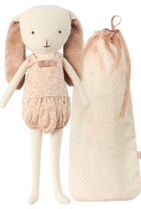 Maileg Rose Bunny Bell in Bag