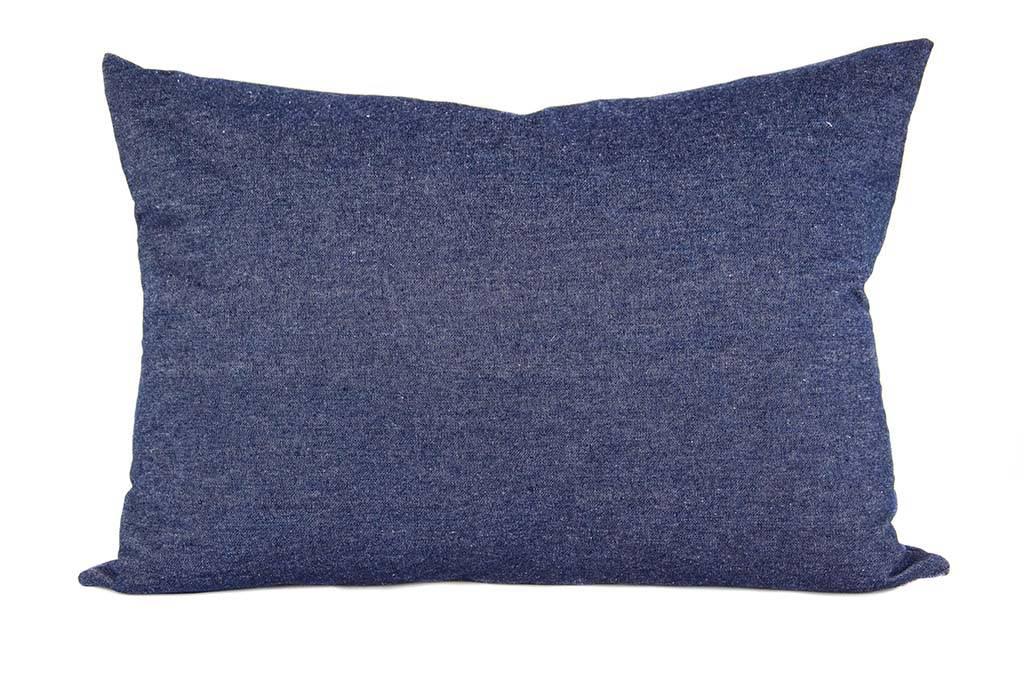 """Kreatelier Rectangular Pillow 15""""x22"""" Jeans"""