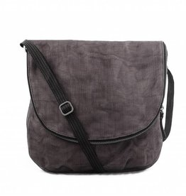 Helping Hand Partners Courier Bag Charcoal