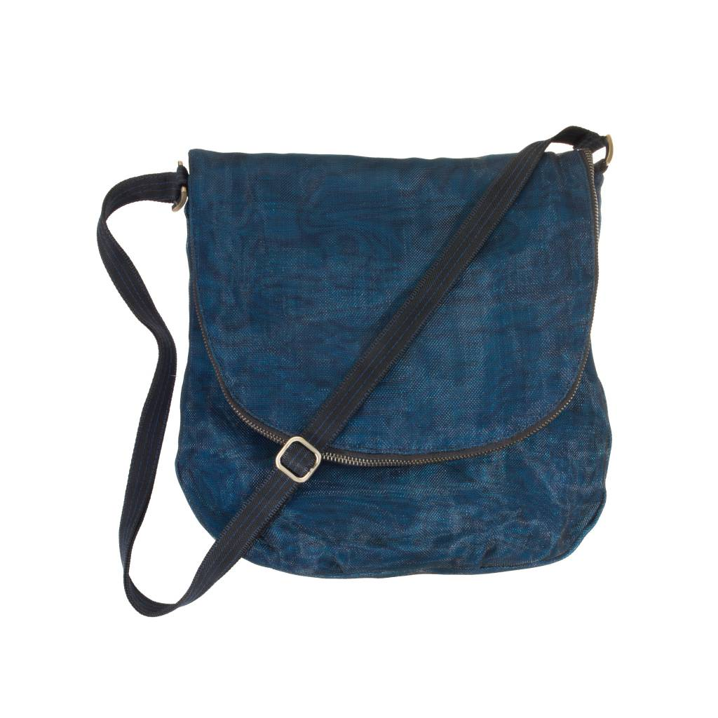 Helping Hand Partners Courier Bag Navy Blue