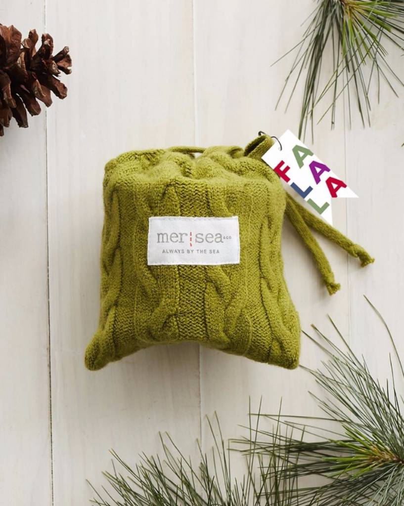 Mer Sea Sea Pines 7 ounce Sweaterbag Candle