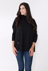 Mer Sea Mini Pocket Travel Sweater OS Black