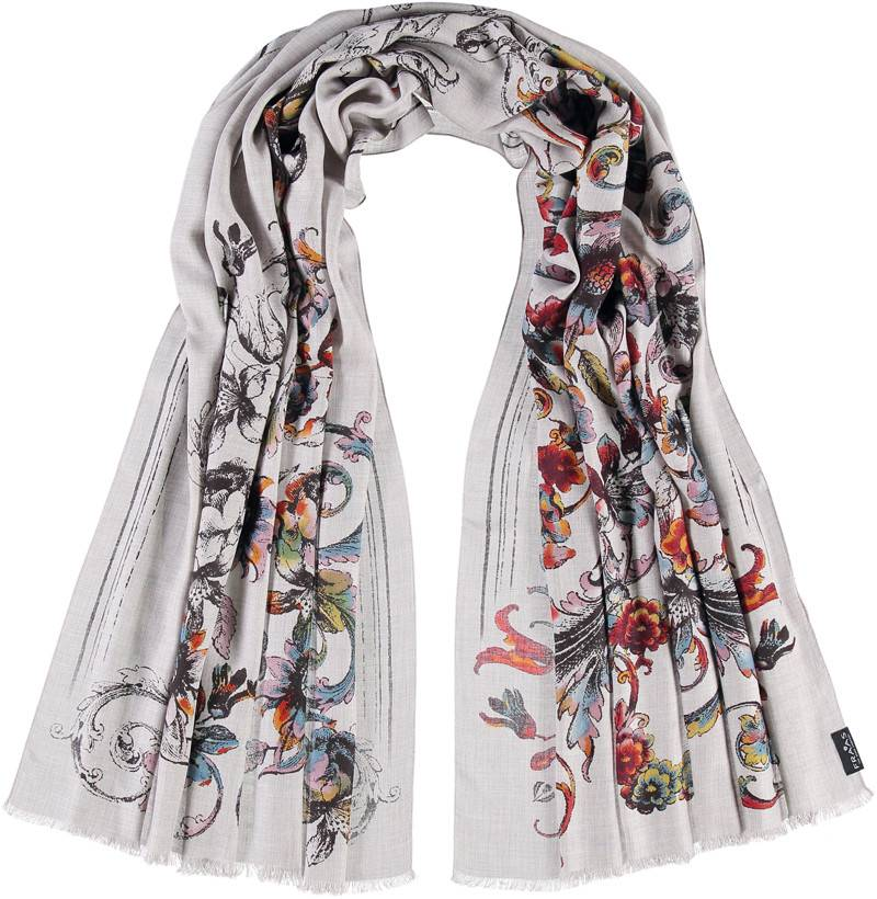 Fraas Winter Filagree Scarf  Rust