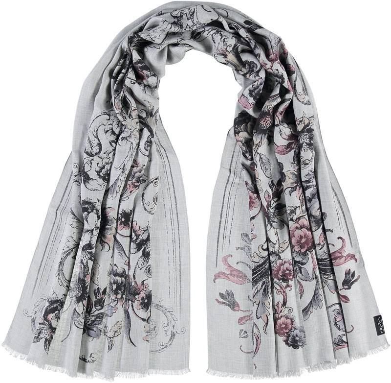 Fraas Winter Filagree Scarf Lt. Rose