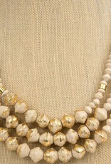 31Bits Necklace Emery Cream