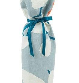 Kreatelier Bottle Gift Bag  Blue and Orange