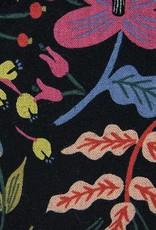 Dana Herbert Accessorries Canvas Pencil Bag Black Floral