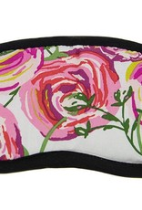Dana Herbert Accessorries Eye Mask Pink Roses
