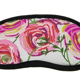 Dana Herbert Accessorries Eye Mask Pink Roses