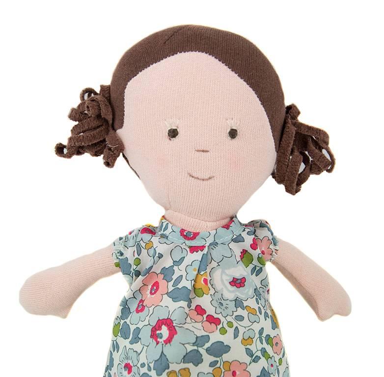 Hazel Village Doll Louise in Sweet Rose Dress