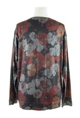 Nally and Millie Multicolor Floral cardigan