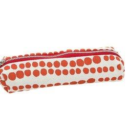 Erin Flett Zip Pencil Case Tomato Red