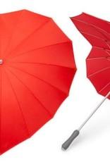 Abbott Red Heart Shaped Umbrella