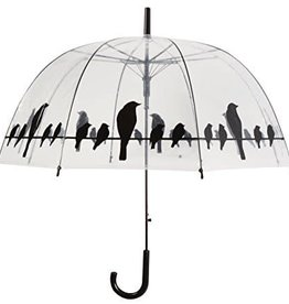 Abbott Bubble Black Birds Umbrella