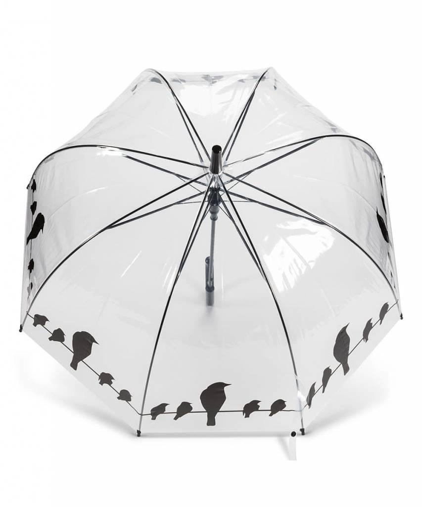 Abbott Bubble Black Birds Umbrella