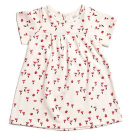 Winter Water Factory Florence Baby Dress Tulips Red