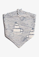Winter Water Factory Kerchief Bib High Seas Navy