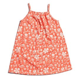 Winter Water Factory Milano Dress The Garden Coral