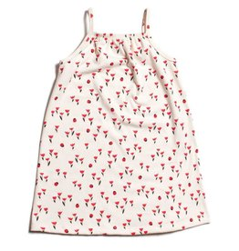 Winter Water Factory Milano Dress Tulips Red