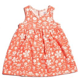 Winter Water Factory Oslo Baby Dress The Garden Coral