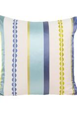 "Kreatelier Square Pillow 18""x18"" Spring Stripes"