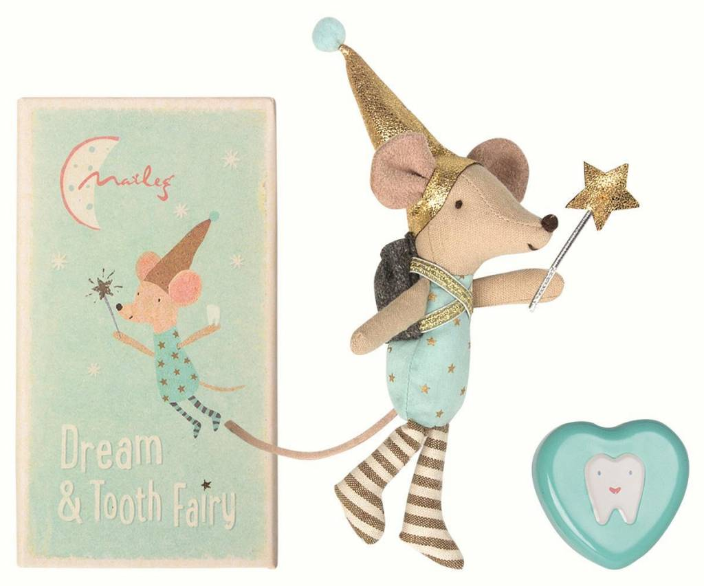 Maileg Mouse Big Brother Tooth Fairy
