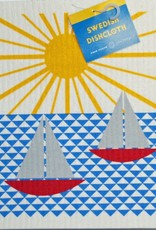 Cose Nuove Swedish Dischcloth Sailboats