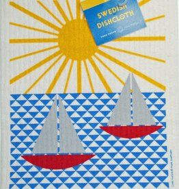 Cose Nuove Swedish Dischcloth Sailboats