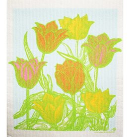 Cose Nuove Swedish Dischcloth Tulip Garden