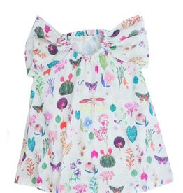 Chaboukie Butterfly Dress in Botanical