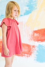 Chaboukie Butterfly Dress Coral