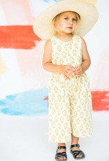 Chaboukie Crop Jumpsuit in Marigold