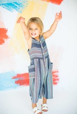 Chaboukie Crop Jumpsuit in Bird of Paradise