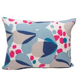 Kreatelier Alva Pillow in Blue - 15 x 19in