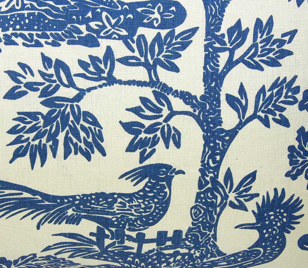 """Kreatelier Rectangular Pillow 15""""x 22"""" Blue Birds"""