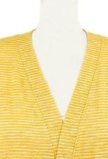 Nally and Millie Kimono Tunic in Striped Sunflower