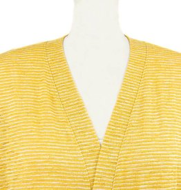 Nally and Millie Stripe Boxy Cover Up Sun Flower