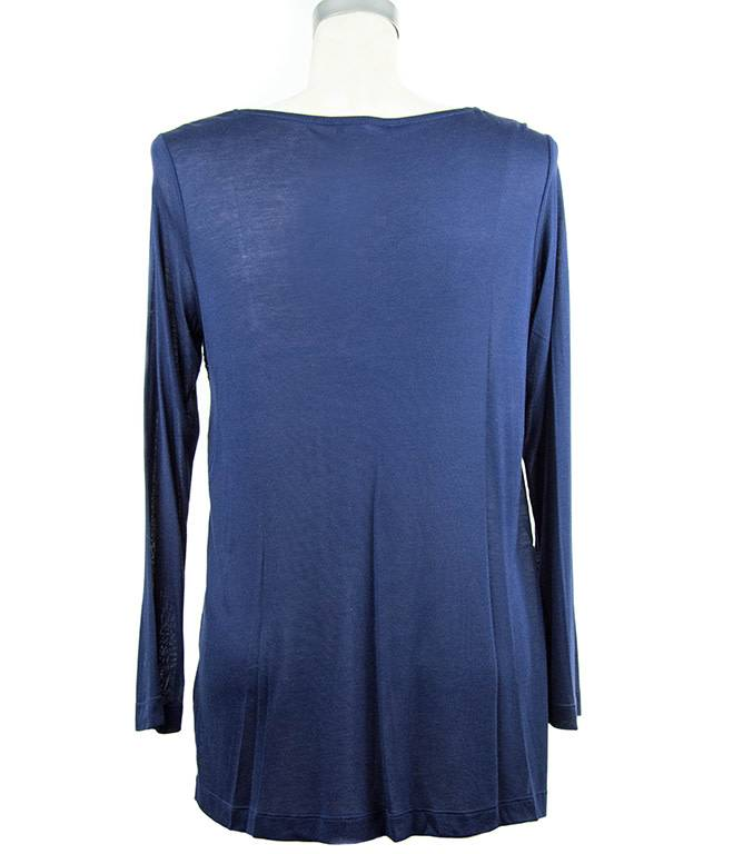 Nally and Millie Lace Tunic in Dark Denim
